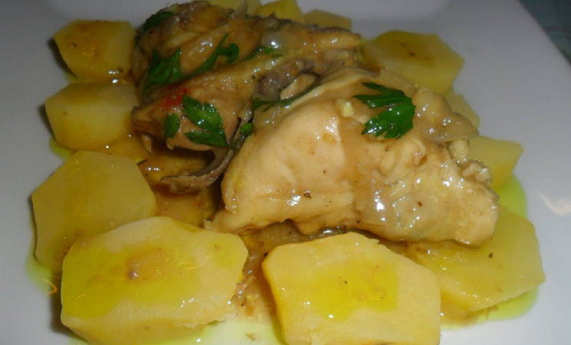 Cómo preparar un delicioso pollo a la cacerola en salsa de mostaza