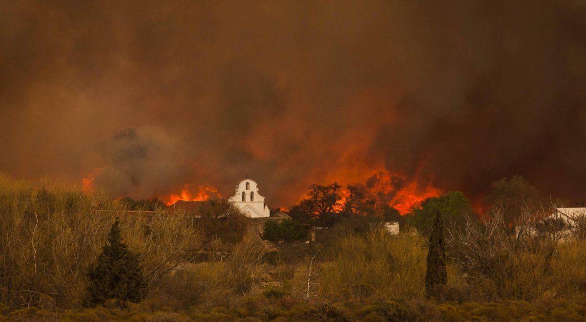 El desgarrador pedido en medio de los incendios: ¡Señor