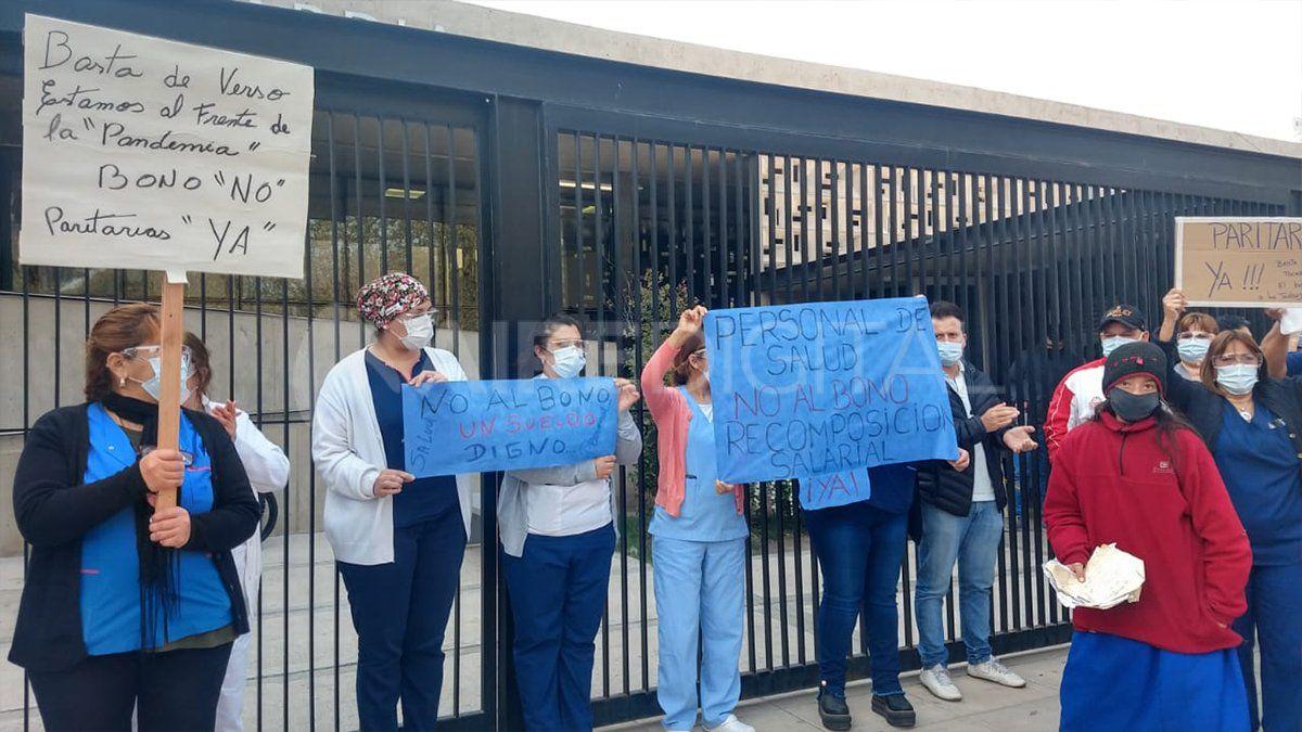 Amra llegó a un acuerdo con el gobierno este jueves y ahora otros sectores de hospitales aguardan un plus similar.