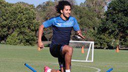 Vendido al Austin FC de la MLS, Cecilio Domínguez juega a préstamo en Guaraní a la espera del comienzo de la nueva temporada de la liga de Estados Unidos.