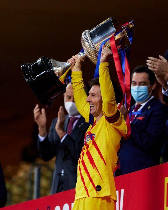 Barcelona alcanzó una nueva copa nacional