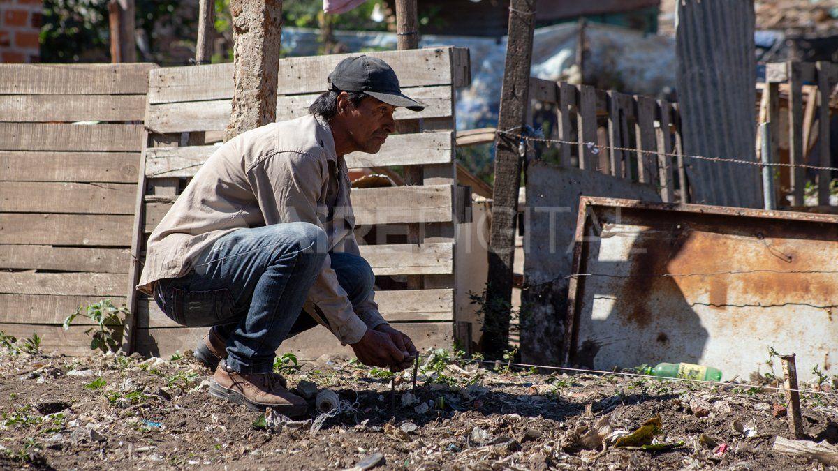 Empezó el cambio de vida en barrio Las Lomas