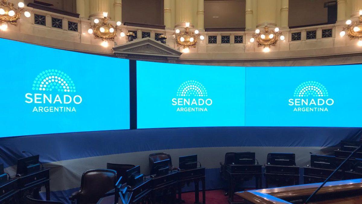 El Senado postergó algunos proyectos de ley con acuerdo parlamentario hasta el lunes