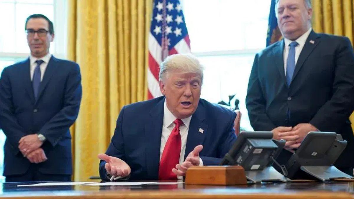 Los periodistas en la Casa Blanca fueron llevados a la Oficina Oval