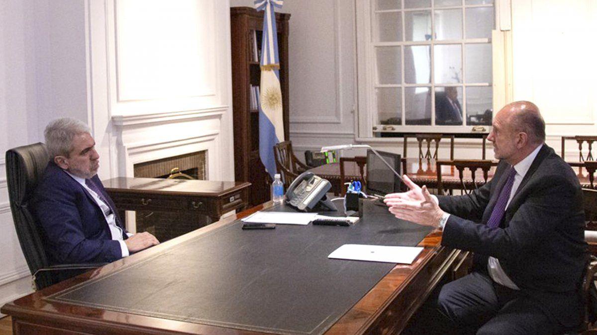 Fernández y Perotti harán anuncios sobre seguridad para Santa Fe.