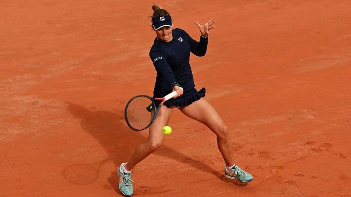 La argentina Nadia Podoroska resaltó este domingo la mentalidad demostrada para vencer a la checa Barbora Krejcikova (2-6