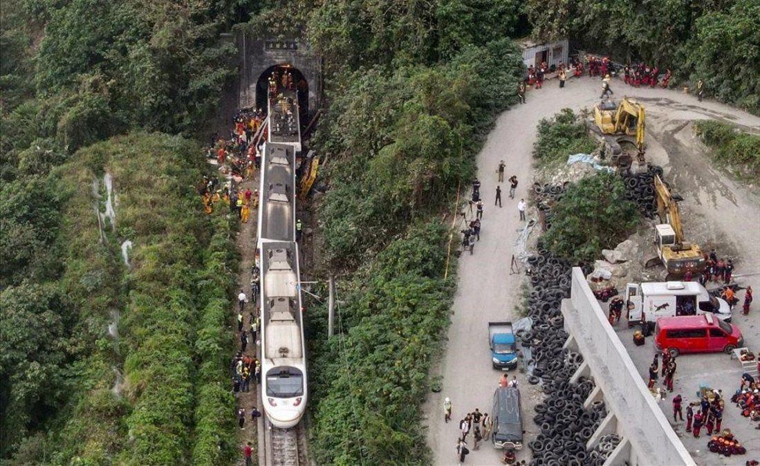 El accidente de Taiwán es una de las peores tragedias ferroviarias que tuvo el país.