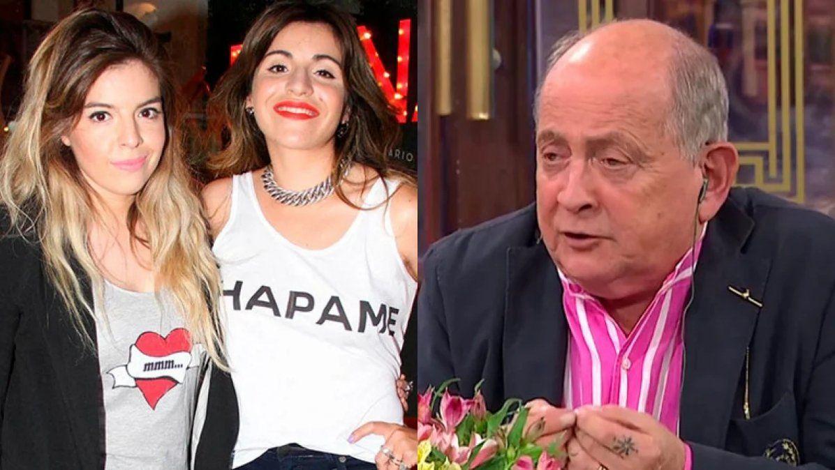 Chiche Gelblung sobre Dalma y Gianinna Maradona: No han hecho nada en su vida