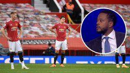Patrice Evra, ídolo del Manchester United, fue muy crítico con los jugadores de su ex equipo y dijo que hay algunos que se merecen una buena cachetada.