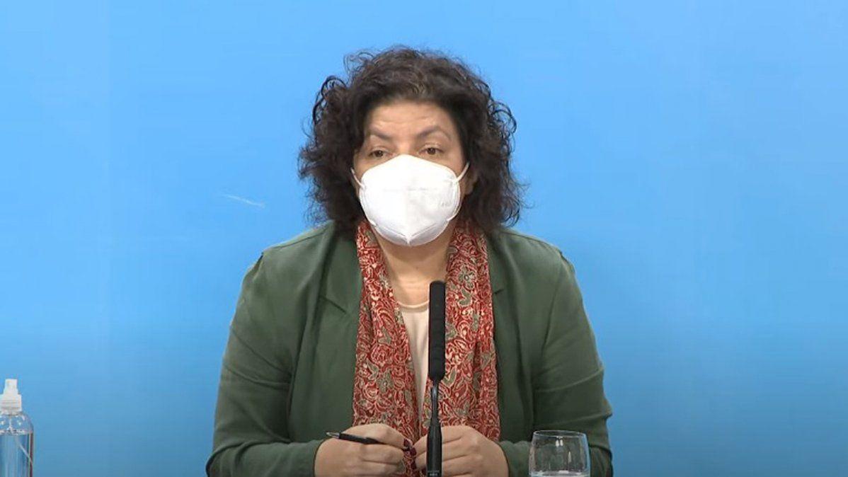 la-ministra-salud-el-informe-epidemiologico-este-miercoles-argentina
