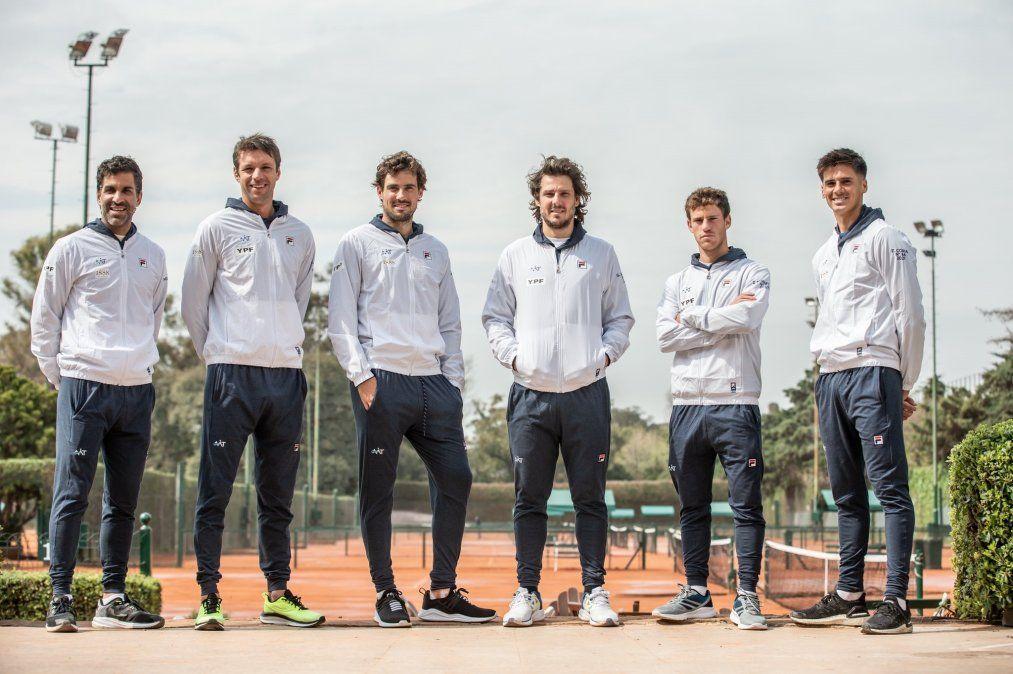 Argentina juega este sábado por Copa Davis ante Bielorrusia