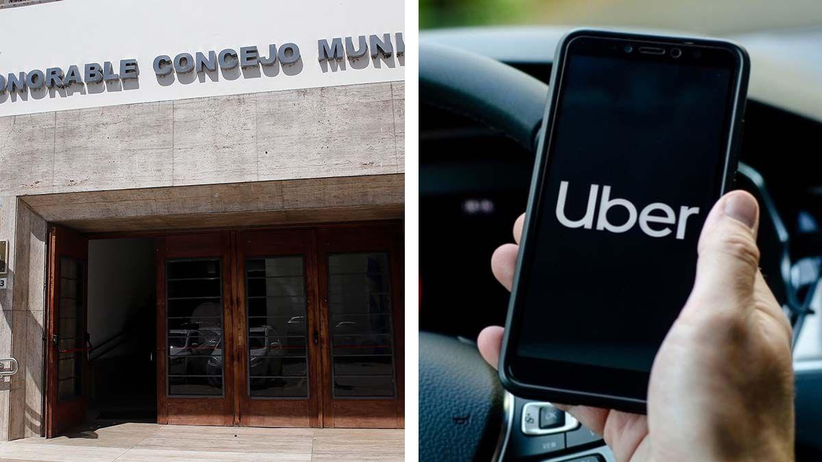 La intención de Uber de prestar sus servicios de  traslados de personas en la ciudad de Santa Fe será eje de debate en la sesión de este miércoles en el Concejo Municipal.