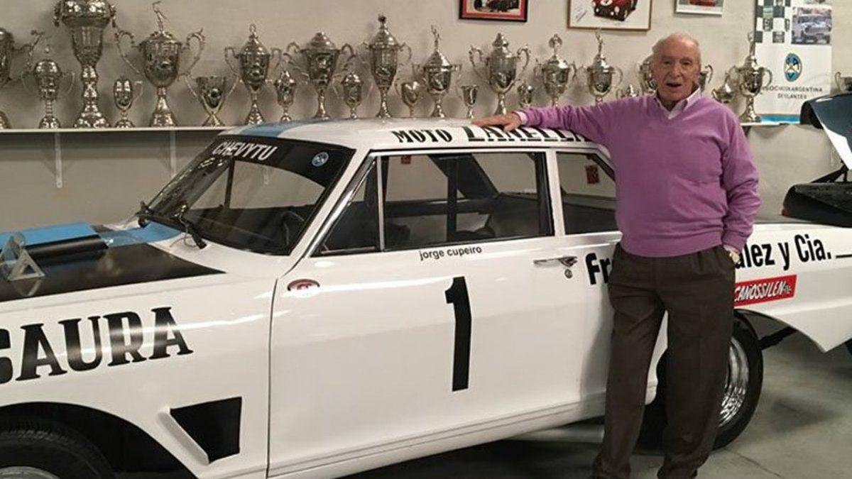 Jorge Cupeiro falleció a los 83 años y formó parte de la misión argentina que hizo historia en las 84 horas de Nürburgring.