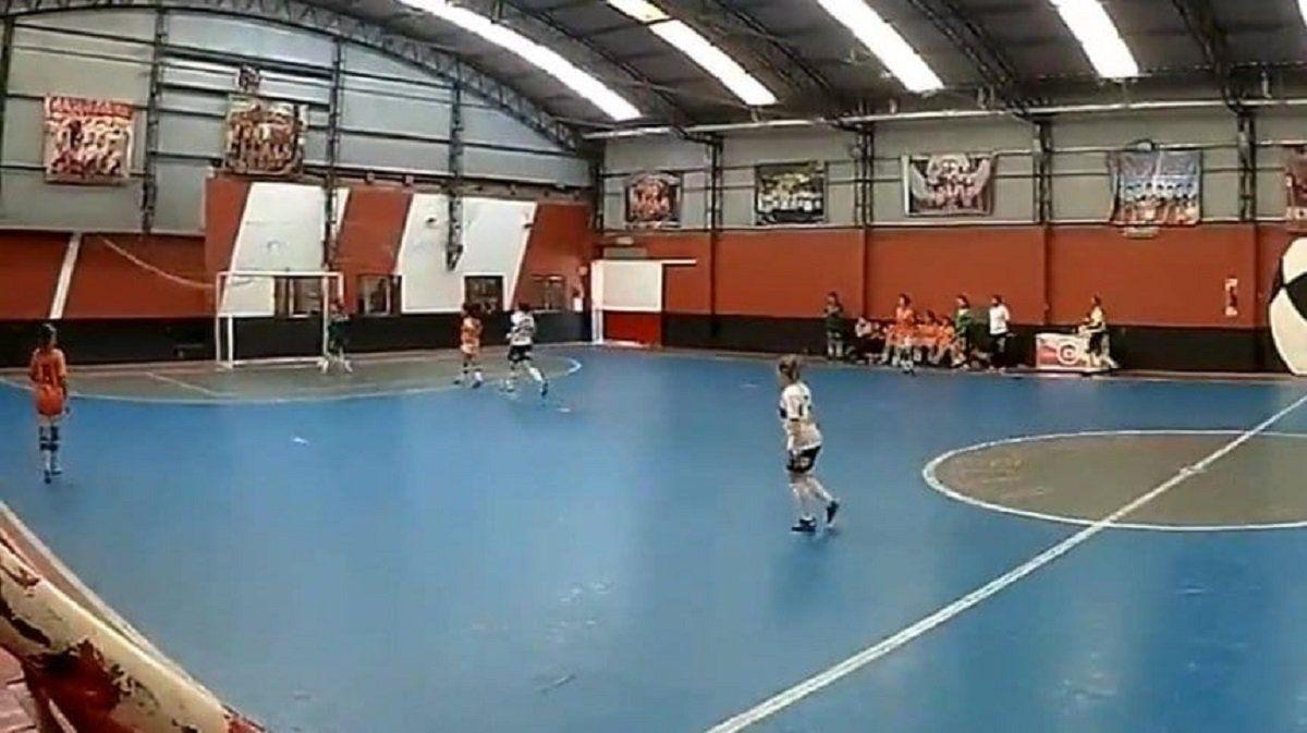 Polémica en el futsal femenino: actitud antideportiva de Banfield frente a Gimnsaia