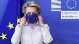 """""""La UE está lista para conversar sobre cualquier propuesta que responda a la crisis de forma efectiva y pragmática, dijo la presidenta de la Comisión Europea, Ursula von der Leyen."""