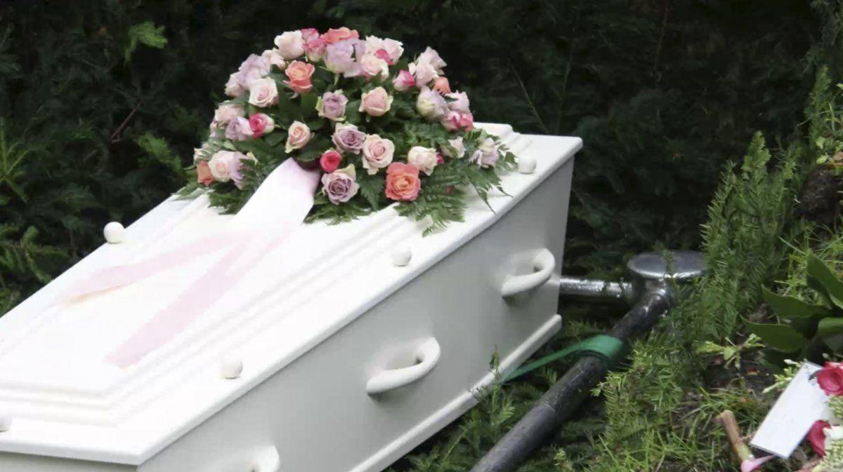 Antes de ser enterrado