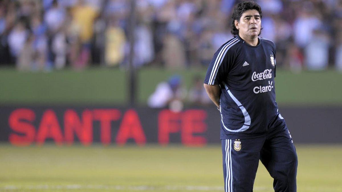 El último paso de Maradona por nuestra ciudad se produjo hace 11 años