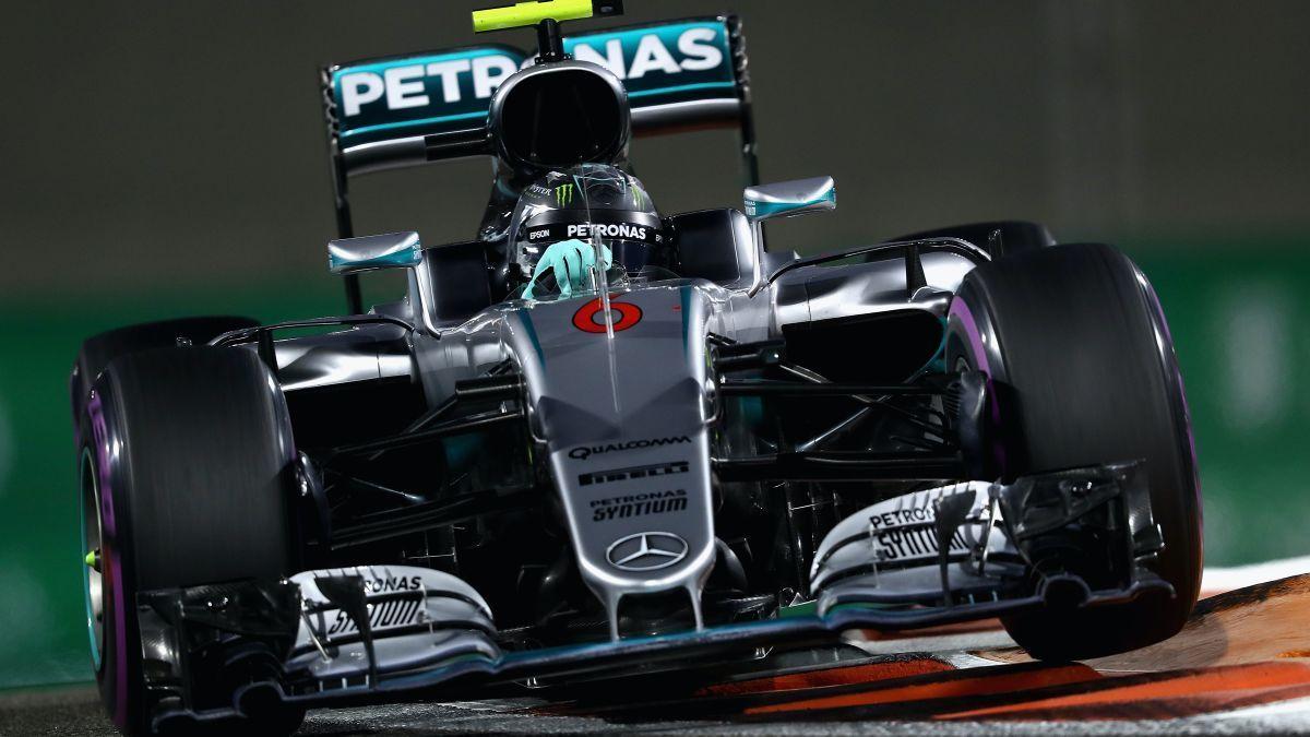 Nico se coronó en 2016 con el Mercedes FW07. Ese año ganó nueve carreras