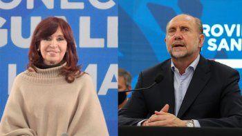 ¿Último intento para evitar la interna?: Perotti se reunió con CFK en el Instituto Patria
