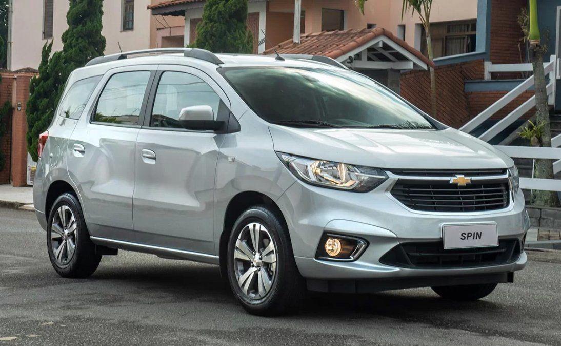 La Chevrolet Spin se convirtió en una de las opciones familiares más elegidas