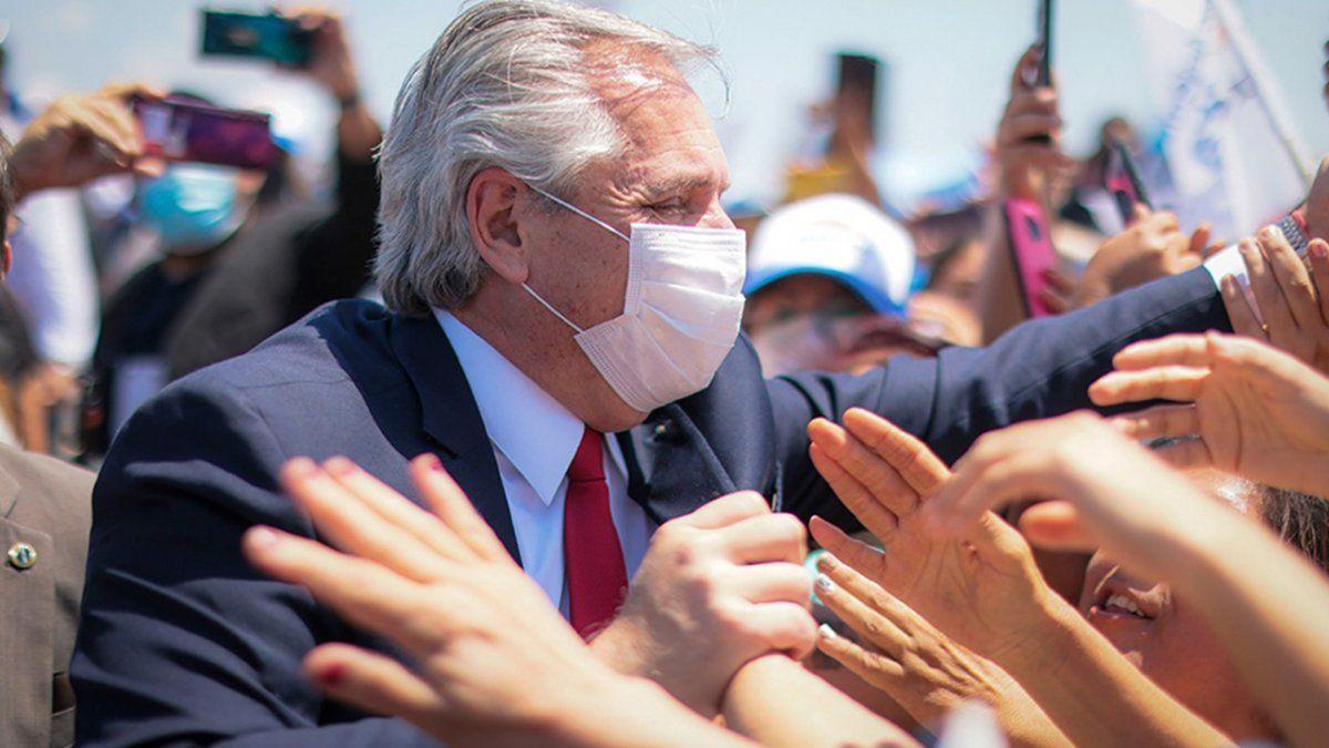 La pandemia nos generó una nueva división. Basta de divisiones en la Argentina. De una vez por todas