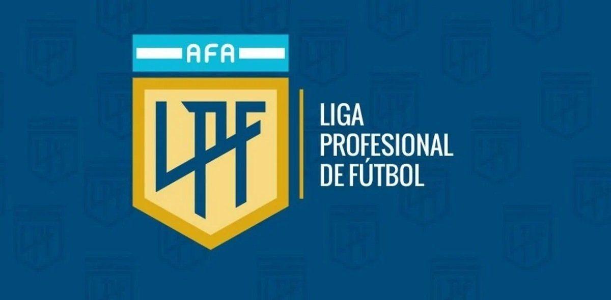 Logo de la Liga Profesional de Fútbol que viene a reemplazar a la Superliga.