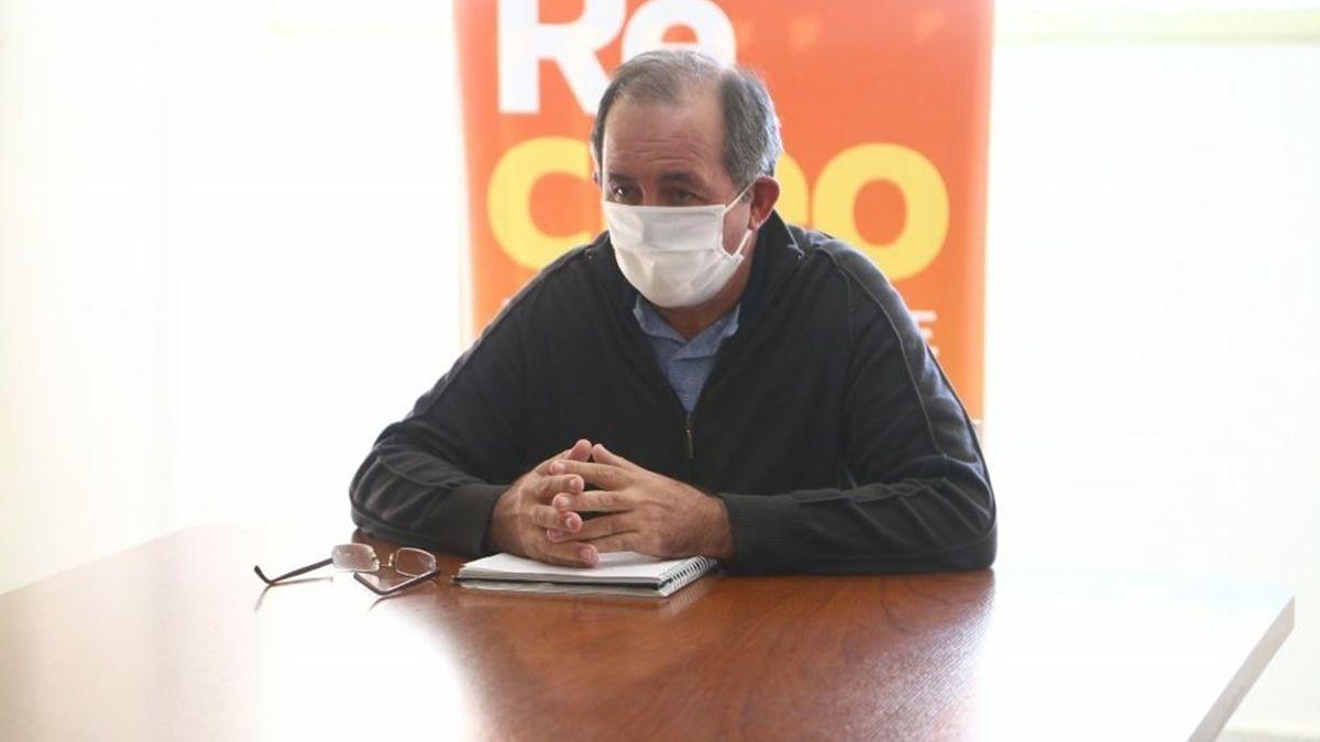 Omar Colombo busca renovar por cuatro años más en la Municipalidad de Recreo.