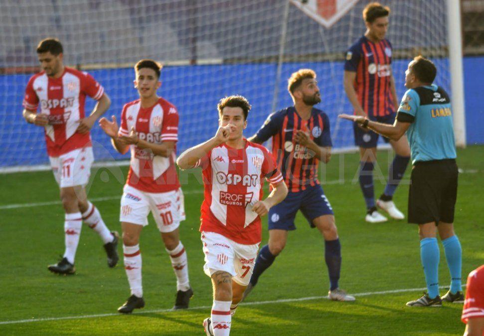 Cristian Insaurralde ingresó en el complemento y anotó el 4-0 final para Unión, que consiguió su primer victoria en el campeonato.