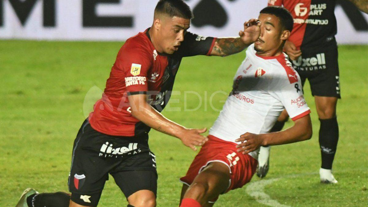 Brian Fernández anotó su primer gol con la camiseta de Colón ante Independiente y puede ser titular ante Central Córdoba por la Copa Diego Maradona.