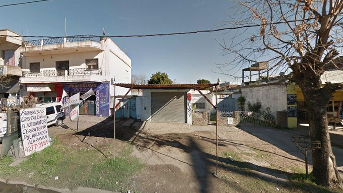 La zona de la calle El Cóndor al 3500