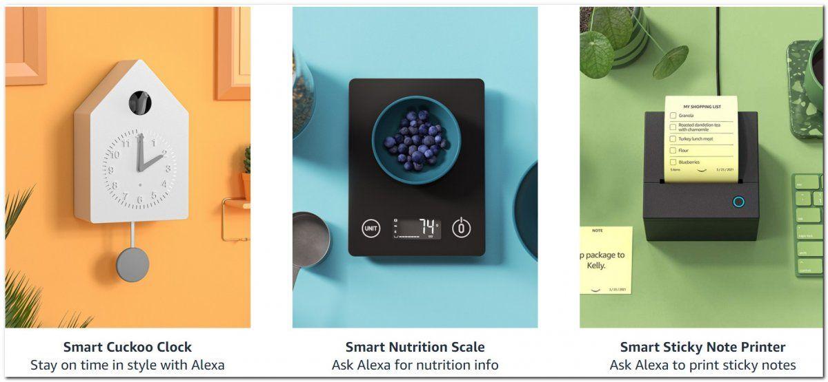 Los nuevos prototipos estarán disponibles en la plataforma online de Amazon.
