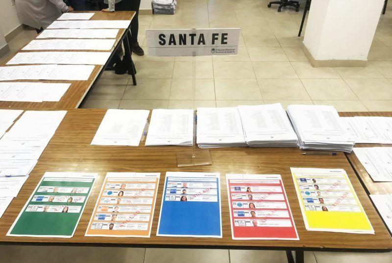 Para los cargos provinciales se utilizará el sistema de Boleta Única.