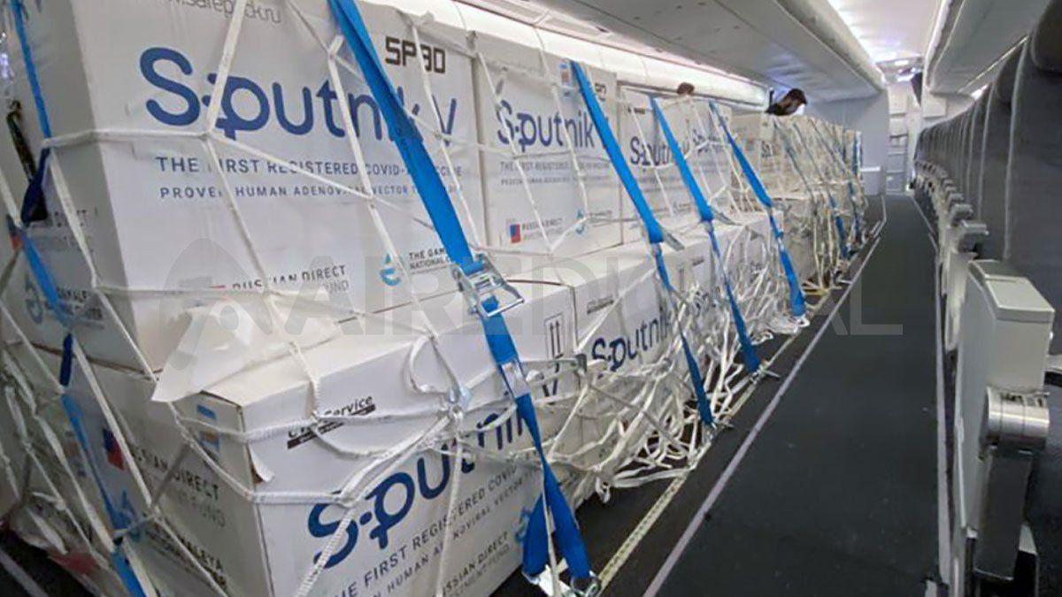 Se espera la llegada de un nuevo lote de dosis de la vacuna Sputnik V.