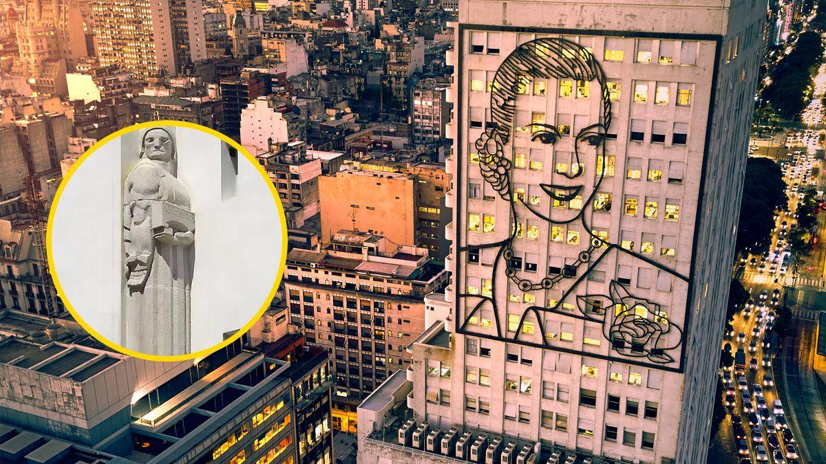 La historia del monumento a la coima escondido en un edificio icónico de la avenida 9 de julio
