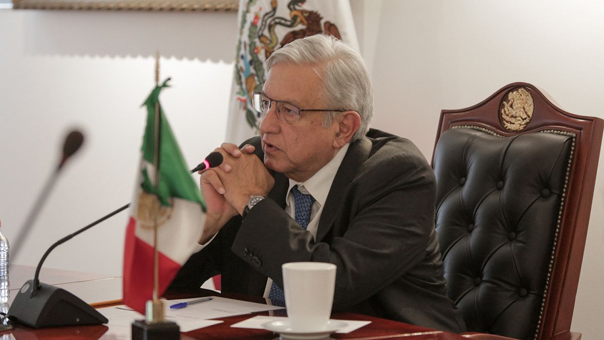 El presidente de México