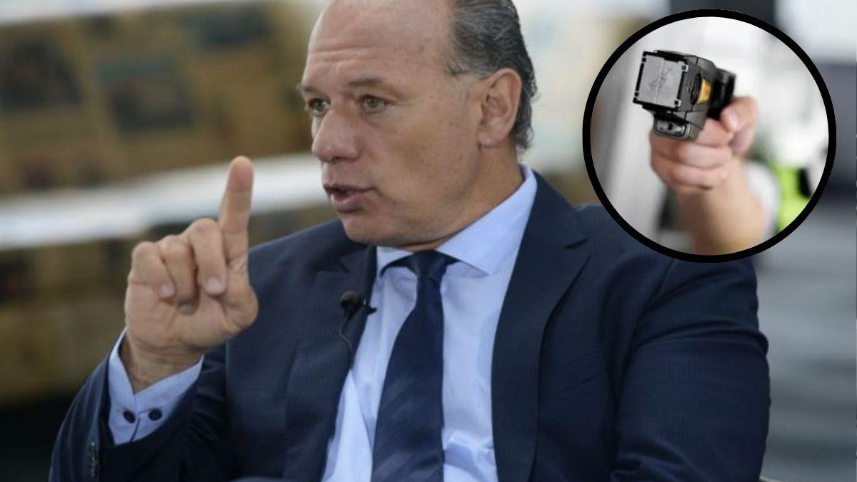 Sergio Berni sobre el uso del arma Taser: Es fundamental en situaciones como la de Roldán