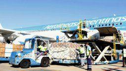 El Airbus 330-200, matrícula LV-GIF, con la nominación AR1050, despegó el miércoles a las 5.50 hora local (las 18.50 de Argentina) rumbo a la escala en Madrid.