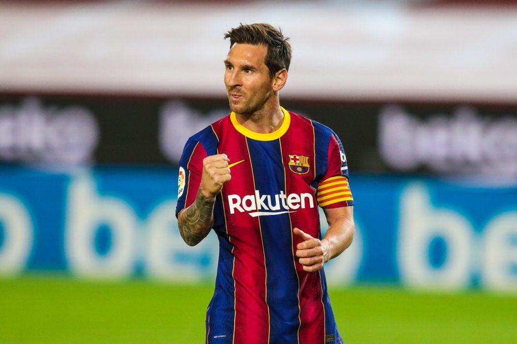 Lionel Messi marcó en el debut del Barcelona en La Liga de España en el 4-0 ante Villarreal. Los otros goles del Balugrana fueron de Ansu Fati.
