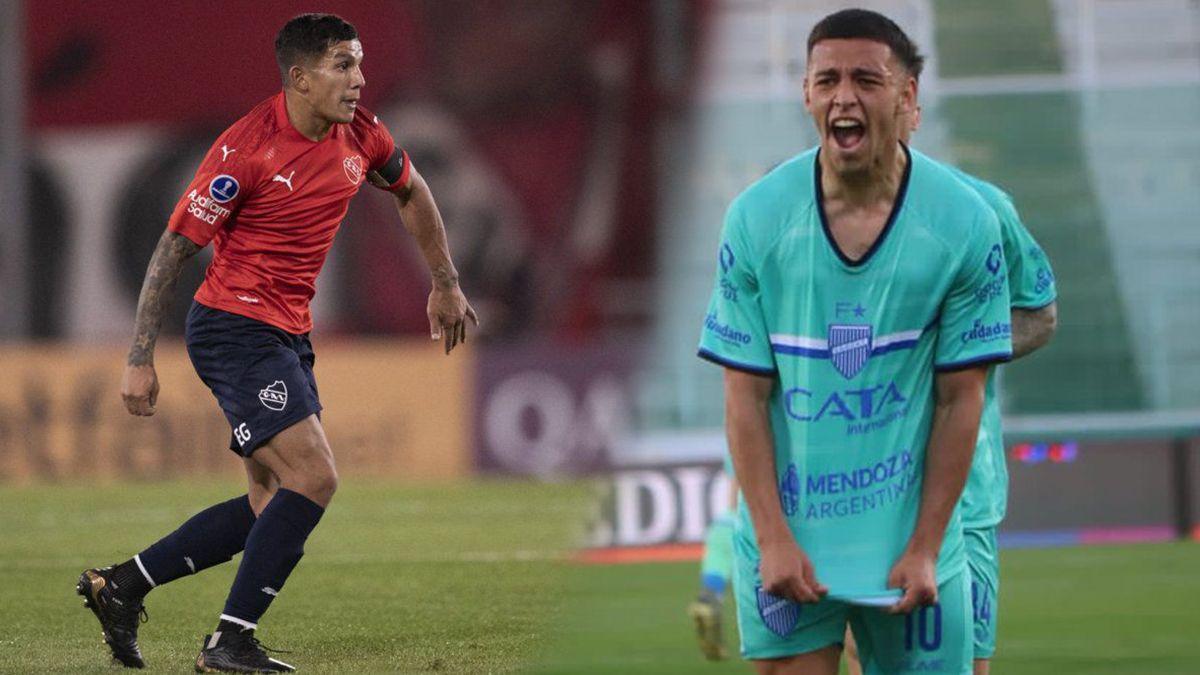 Independiente recibe a Godoy Cruz para acercarse a los primeros puestos de la tabla del Torneo de la Liga Profesional.