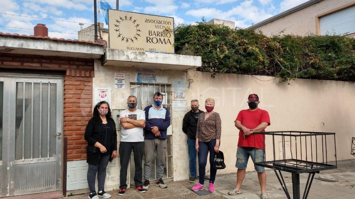 Los vecinos de barrio Roma quieren hacer visible el pedido por más seguridad y eligieron la modalidad de la caravana