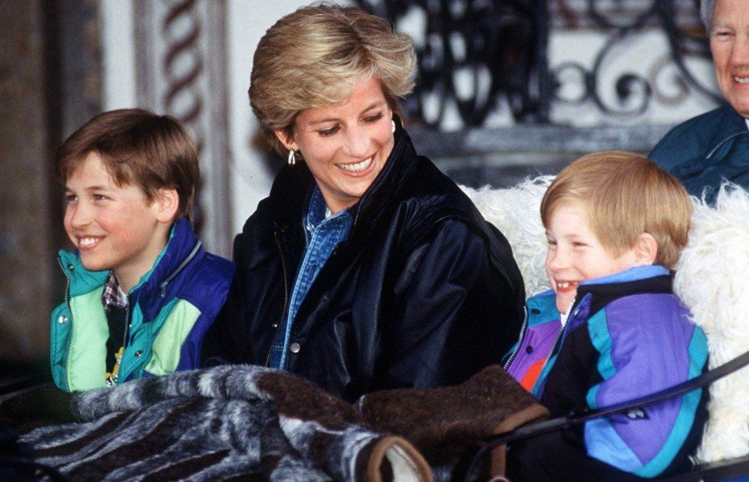 La escena de celos de Lady Di que marcó a los príncipes William y Harry