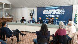 La Central de los Trabajadores de la Argentina Autónoma (CTAA) reafirmó su compromiso con las demandas populares y reclamó la recomposición de las medidas de estímulo como el IFE y la ATP.
