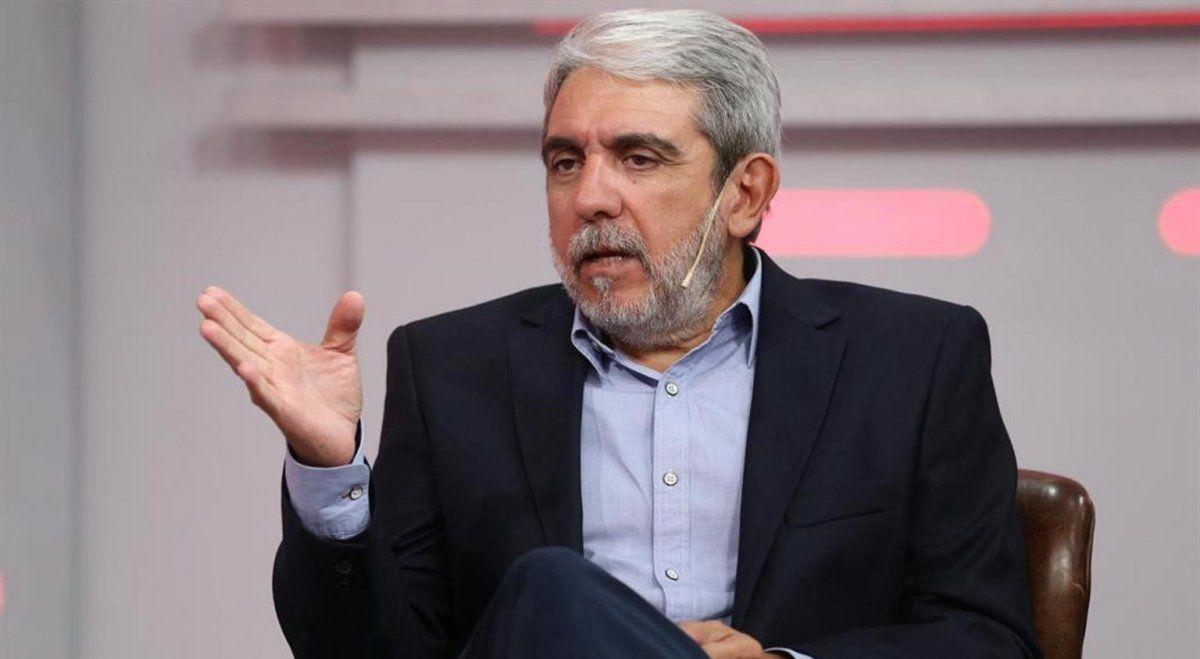 Aníbal Fernández fue duro contra la oposición.