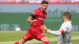 Ante la lesión de Paulinho, Lucas Alario es quien tiene mayores chances de jugar de entrada para Bayer Leverkusen en la final de la Copa de Alemania ante Bayern Munich.