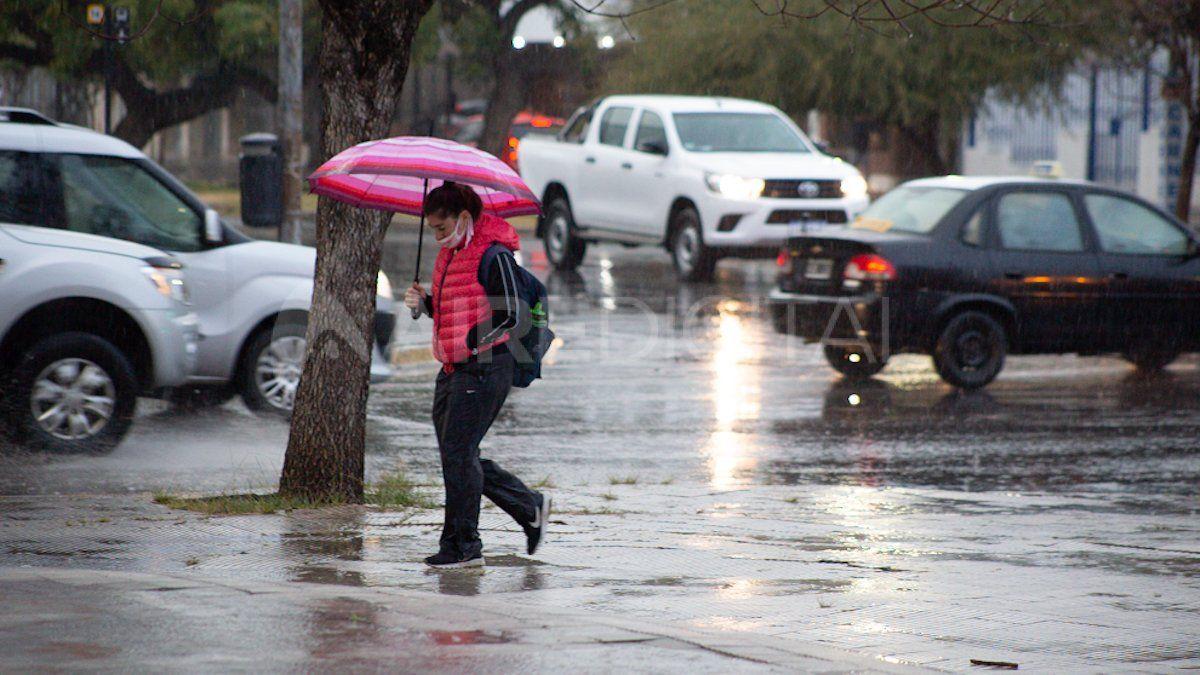 Tras una jornada de intenso calor, llega la inestabilidad a la ciudad de Santa Fe