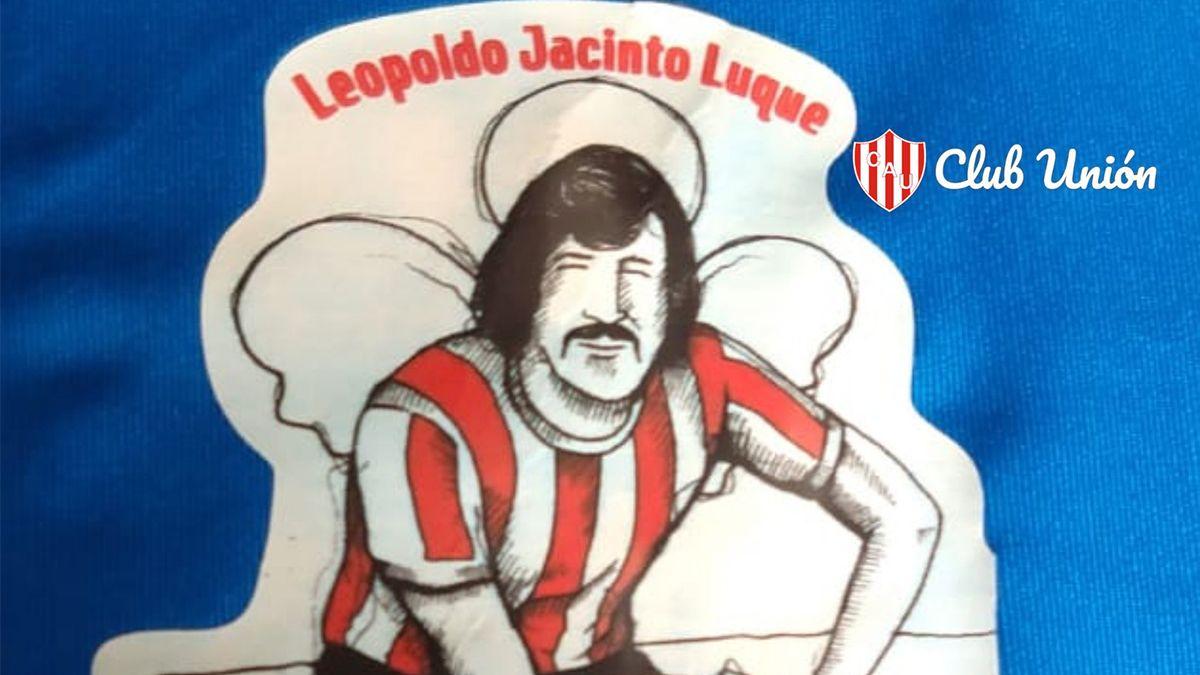El parche que lucirá Unión en su camiseta en el encuentro ante Huracán por la Copa de la Liga.
