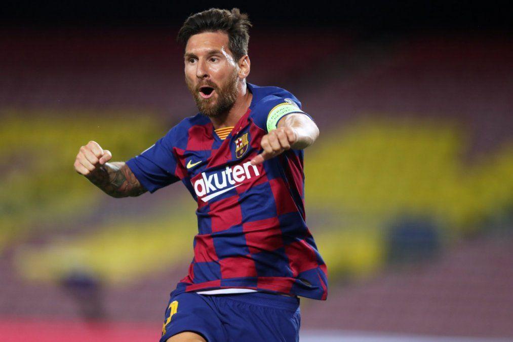 Lionel Messi volvió a demostrar su compromiso con su Rosario