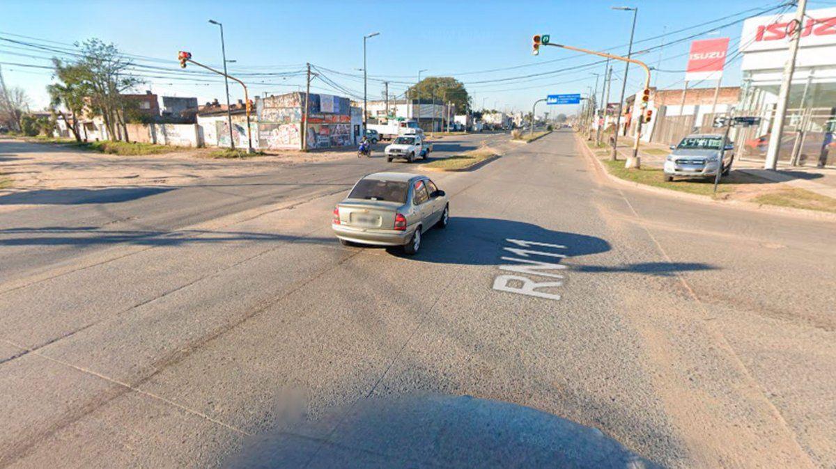 La intersección de las avenidas Blas Parera y Teniente Coronel Loza