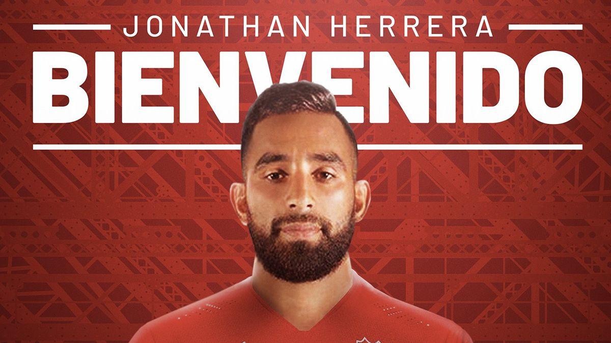 Jonathan Herrera fue presentado como nuevo jugador de Independiente