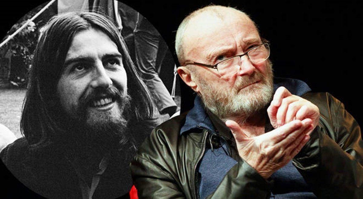 Phil Collins participó de la grabación del disco debut de Harrison